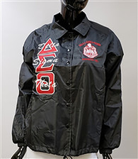 Delta Sigma Theta Sorority Line Jacket- Black