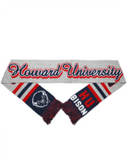 Howard University Acrylic Scarf- Gray