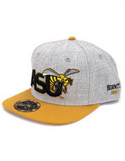 Alabama State University Snapback Hat- Gray