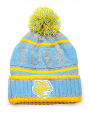 Southern University Pom Beanie- Gray