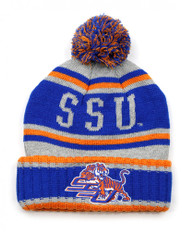Savannah State University Pom Beanie- Gray