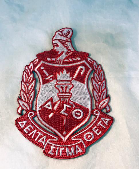 Delta Sigma Theta Sorority Emblem- 5 Inches
