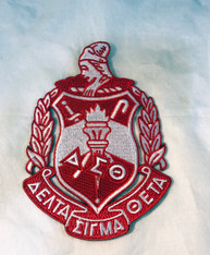 Delta Sigma Theta Sorority Emblem- 5 Inches