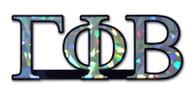 Gamma Phi Beta Sorority Reflective Decal