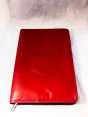 Delta Sigma Theta Sorority Leather Ritual Book Cover