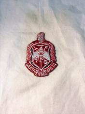 Delta Sigma Theta Sorority Emblem- 2 7/8 Inches