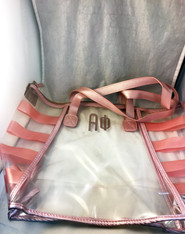 Alpha Phi Sorority Clear Tote Bag