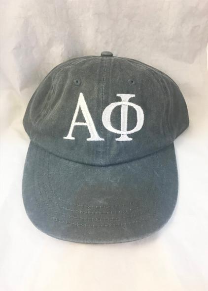 Alpha Phi Sorority Hat- Gray