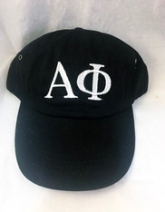 Alpha Phi Sorority Hat- Black