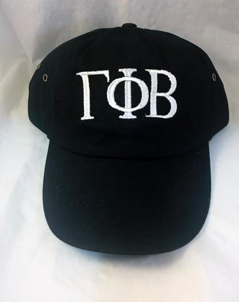 Gamma Phi Beta Sorority Hat- Black