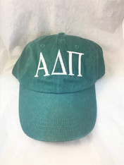 Alpha Delta Pi ADPI Sorority Hat- Green