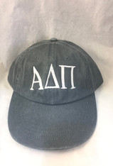 Alpha Delta Pi ADPI Sorority Hat- Gray