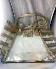 Alpha Delta Pi ADPI Sorority Clear Tote Bag