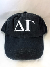 Delta Gamma Sorority Hat- Black
