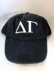 Delta Gamma Sorority Hat- Black