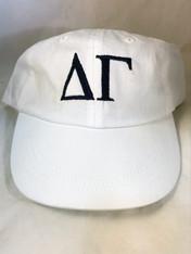 Delta Gamma Sorority Hat- White