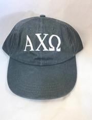 Alpha Chi Omega Sorority Hat- Gray