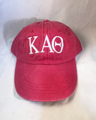 Kappa Alpha Theta Sorority Hat- Red
