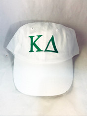 Kappa Delta Sorority Hat- White