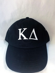 Kappa Delta Sorority Hat- Black