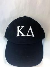 Kappa Delta Sorority Hat- Black