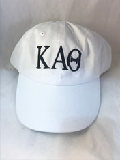 Kappa Alpha Theta Sorority Hat- White