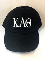 Kappa Alpha Theta Sorority Hat- Black
