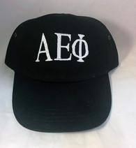 Alpha Epsilon Phi AEPHI Sorority Hat- Black