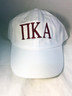 Pi Kappa Alpha PIKE Fraternity Hat- White