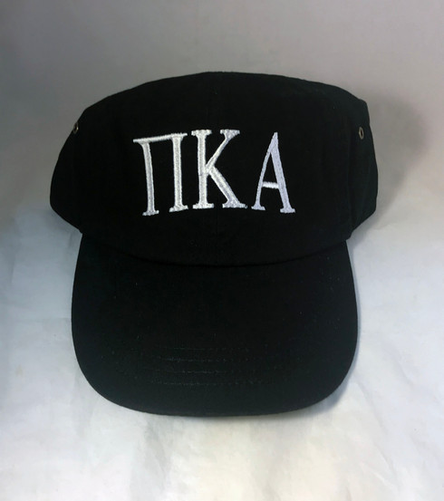 Pi Kappa Alpha PIKE Fraternity Hat- Black