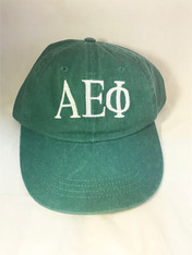 Alpha Epsilon Phi AEPHI Sorority Hat- Green