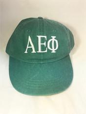 Alpha Epsilon Phi AEPHI Sorority Hat- Green