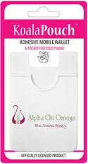 Alpha Chi Omega Sorority Koala Pouch- Organization Symbol