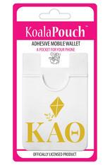 Kappa Alpha Theta Sorority Koala Pouch- Organization Symbol