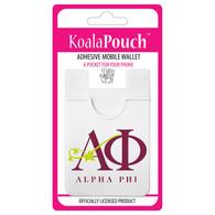 Alpha Phi Sorority Koala Pouch- Organization Symbol