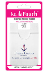 Delta Gamma Sorority Koala Pouch- Organization Symbol