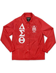 Delta Sigma Theta Sorority Waterproof Coach Jacket