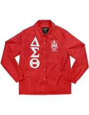 Delta Sigma Theta Sorority Waterproof Coach Jacket