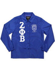 Zeta Phi Beta Sorority Coach Jacket