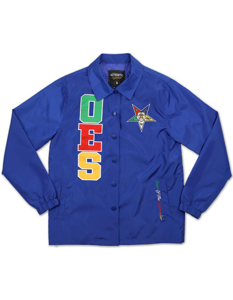 Order of the Eastern Star OES Coach Jacket