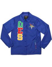 Order of the Eastern Star OES Waterproof Coach Jacket