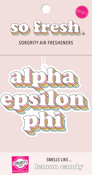 Alpha Epsilon Phi AEPHI Sorority Retro Air Freshener