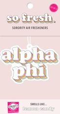Alpha Phi Sorority Retro Air Freshener