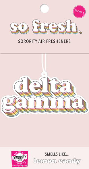Delta Gamma Sorority Retro Air Freshener