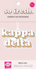 Kappa Delta Sorority Retro Air Freshener