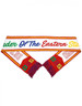 Order of the Eastern Star OES Scarf- White/Red