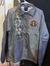 Alpha Kappa Alpha AKA Sorority Line Jacket- Silver