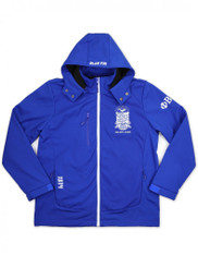 Phi Beta Sigma Fraternity Waterproof Windbreaker- Front