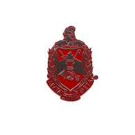 Delta Sigma Theta Sorority Die-Cut Car Badge