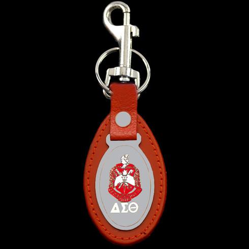 Delta Sigma Theta Sorority Leather Key Chain